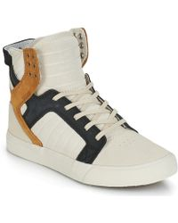 Supra - Skytop Women's Shoes (high-top Trainers) In White - Lyst