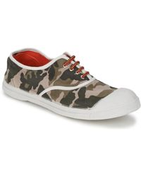 Bensimon - Tennis Camofluo Shoes (trainers) - Lyst