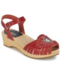 Swedish Hasbeens - Huarache Sandals - Lyst