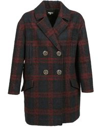 Manoush - Caban Laine Coat - Lyst