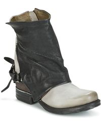 A.S.98 - Zevio Mid Boots - Lyst