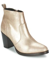 Betty London - Issor Low Ankle Boots - Lyst