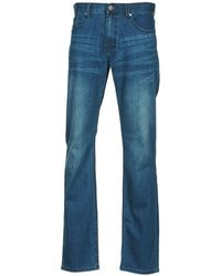 Billabong - Straight Fifty Emerald Blue Men's Jeans In Blue - Lyst