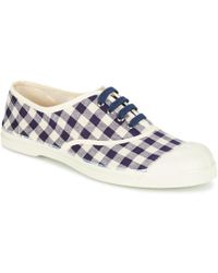 Bensimon - Tennis Vichy Lin Shoes (trainers) - Lyst