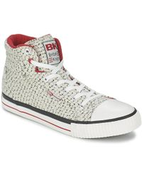 British Knights - Dee Shoes (high-top Trainers) - Lyst