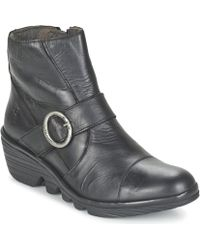 Fly London - Pais Low Ankle Boots - Lyst