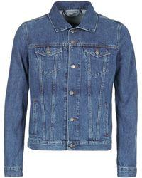 Yurban - Ihedem Men's Denim Jacket In Blue - Lyst