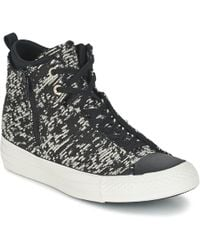 9f02a0b51739 Converse Women s Chuck Taylor All Star Selene Winter Knit High Top ...