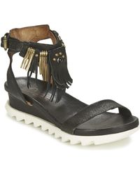 A.S.98 - Flood Sandals - Lyst
