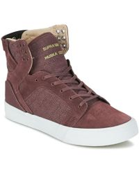 Supra - Skytop Shoes (high-top Trainers) - Lyst