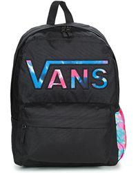 829aa6f07378 Vans Rainbow Backpack In Black in Black - Lyst