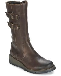 Fly London - Suli Mid Boots - Lyst