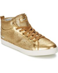 Feiyue - Delta Mid Dragon Scale Shoes (high-top Trainers) - Lyst
