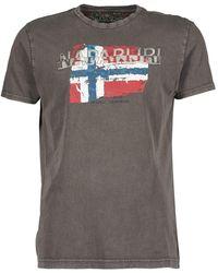 Napapijri   Slood Crew T Shirt   Lyst