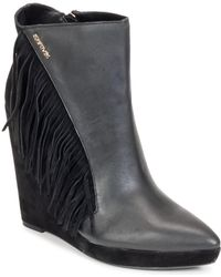 SuperTrash - Arizona Wedge Low Ankle Boots - Lyst