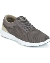 Supra - Hammer Run Men's Shoes (trainers) In Grey - Lyst