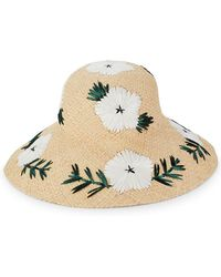 Gottex - Punta Cana Embroidered Floral Sun Hat - Lyst