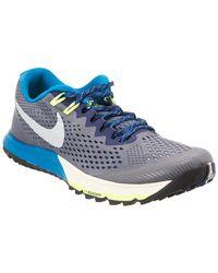 a11906f36d6 Lyst - Nike Men s Air Zoom Terra Kiger 4 Trail Running Shoe in Blue ...