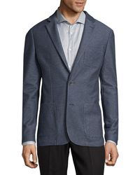 Saks Fifth Avenue - Notch Lapels Jacket - Lyst