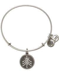 ALEX AND ANI - Flat Charms Seven Swords Ii Expandable Bracelet - Lyst
