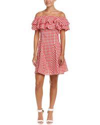 Haute Rogue - Off-the-shoulder A-line Dress - Lyst