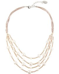 Saachi - Beaded Necklace - Lyst