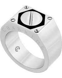 Charriol - Rotonde Stainless Steel Ring - Lyst