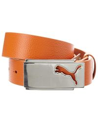 PUMA - Puma Men's Golf High Flyer Leather Belt - Lyst