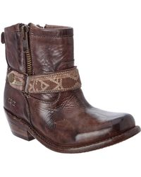 Bed Stu - Women's Triple Leather Bootie - Lyst