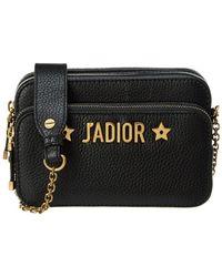 Dior - J'a Leather Crossbody Pouch - Lyst