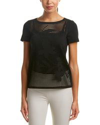 Lafayette 148 New York - Laser-cut Top - Lyst