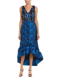 Belle By Badgley Mischka - Belle By Badgley Mischka Gown - Lyst