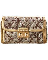 Louis Vuitton - Limited Edition Gold Brocade Thalie - Lyst