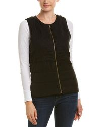 Three Dots - Quilted Vest - Lyst