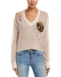 Wildfox - Mascot Liana Wool & Alpaca-blend Sweater - Lyst
