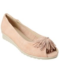 The Flexx - The Boco Loco Suede Flat - Lyst