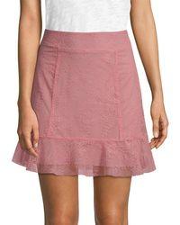4b576e6a00 For Love   Lemons - For Love   Lemons Bianca Mini Skirt - Lyst
