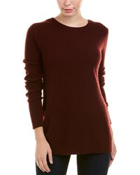 Autumn Cashmere - Reversible Crossover Cashmere Sweater - Lyst