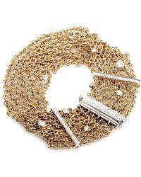 Damiani - 18k Rose Gold 0.83 Ct. Tw. Diamond Bracelet - Lyst