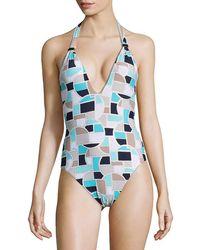 Trina Turk - Disco One-piece Swimsuit - Lyst