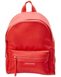 58de9a3f150d Longchamp 2.0 Small Backpack in Red - Lyst