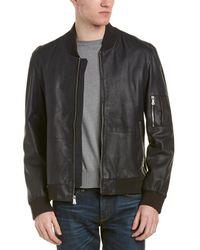 Flynt - Pharrell Leather Coat - Lyst