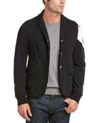 Moncler - Contrast Arm Cotton Sportcoat - Lyst