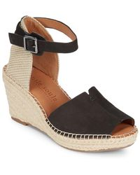 Gentle Souls - Charli Leather Espadrille Wedge Sandal - Lyst