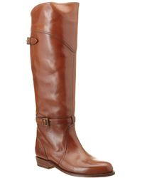 Frye - Women's Dorado Leather Riding Boot - Lyst