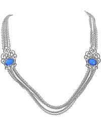 Stephen Webster - Silver Gemstone Doublet Necklace - Lyst