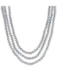 Splendid - 5-6mm Pearl 80in Endless Necklace - Lyst
