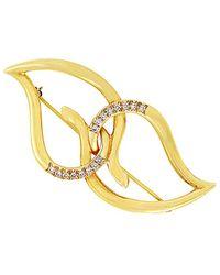 Heritage Tiffany & Co. - Tiffany & Co. 18k 0.33 Ct. Tw. Diamond Brooch - Lyst