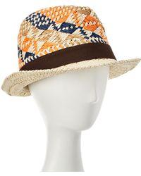 La Fiorentina - Paper Hat - Lyst