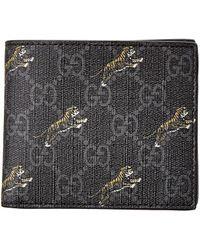 Gucci - GG Tiger Wallet - Lyst